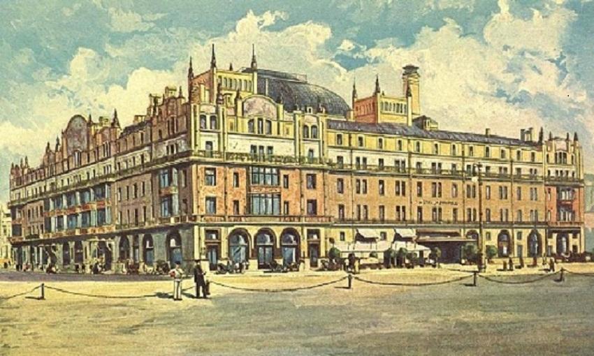 """ერთი ფაქტი სასტუმრო  """"მეტროპოლის"""" ისტორიიდან"""