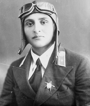 პირველი მფრინავი ქალები სამეგრელოდან