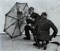 აზბესტის ქოლგა მეხანძრეებისთვის