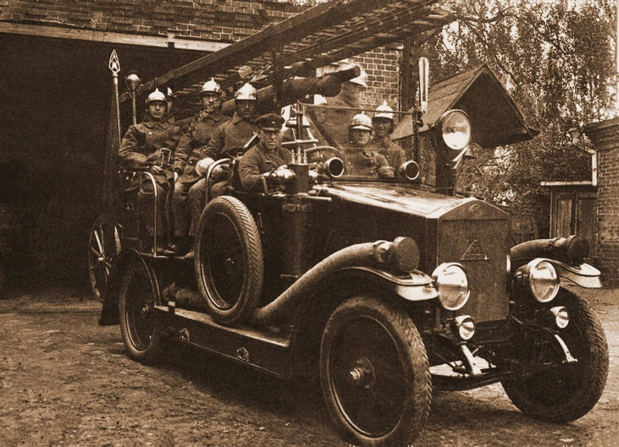 საბჭოთა და რუსული სახანძრო ავტომობილების ისტორია
